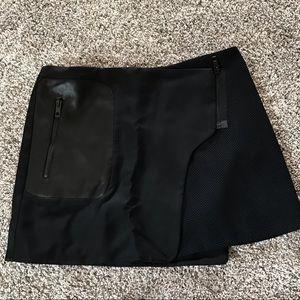 rah&bone Asymmetric wrap skirt